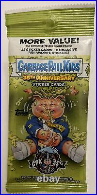 1/1 FULL COLOR ARTIST SKETCH CARD! HOT PACK 2020 Topps Garbage Pail Kids 35th