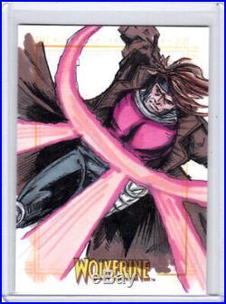 2009 Marvel X-Men Origins Wolverine Unknown Artist Gambit Sketch Card 1/1