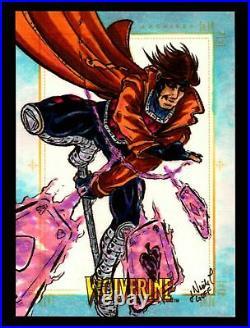 2009 X-Men Origins Wolverine Artist Sketch Trading Card 1/1 by Nicole Goff