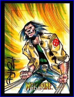 2009 X-Men Origins Wolverine Artist Sketch Trading Card by Don Hillsman