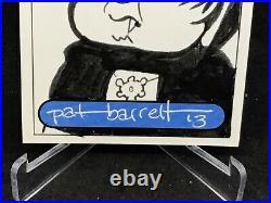 2013 Garbage Pail Kids Sketch CaRD Nasty nick ARTIST PAT BARRETT 1/1