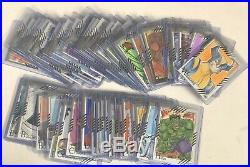 2015 Marvel Retro Base Sketch Card Set by Various Artists (57 of a 58-card set)