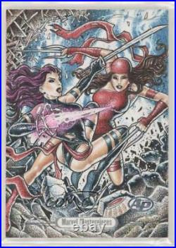 2016 Marvel Masterpieces Legacy Sketch Cards Artist Proof 1/1 Unknown c6r
