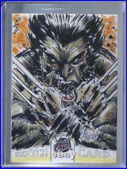 2018 Fleer Ultra X-Men Sketch Cards Unknown Artist c6r
