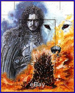 2019 Game Of Thrones Season 8 Uncut Artist Proof Sketch Card