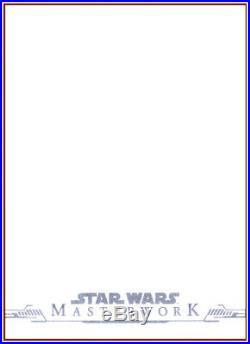 2019 STAR WARS MASTERWORKS REY ARTIST PROOF SKETCH CARD by COVER
