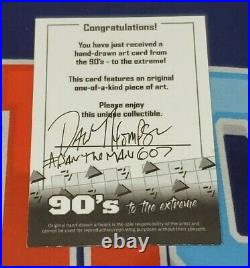 2020 90's To The Extreme Michael Jordan Space Jam Artist Sketch Card 1/1