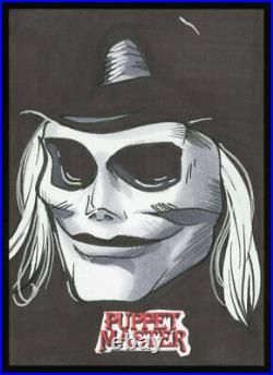 2020 Attic Cards Puppet Master Blade Artist Sketch Card by Rich Molinelli
