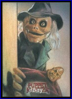 2020 Attic Cards Puppet Master Blade & Pinhead Artist Sketch Card by Huy Truong