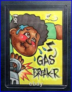 2020 Garbage Pail Kids Krashers GPK Sketch art Artist Signature CHENDUZ 1/1 Card