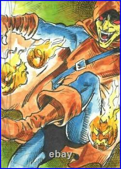 2020 Marvel Masterpieces Sketch Card By Unknown Artist