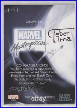 2020 Marvel Masterpieces Sketch Cards Artist Proof 1/1 Cleber Lima ob9