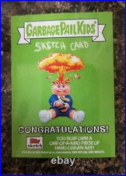 2020 Topps Garbage Pail Kids 35th Anniversary 1/1 Antman Artist Sketch card