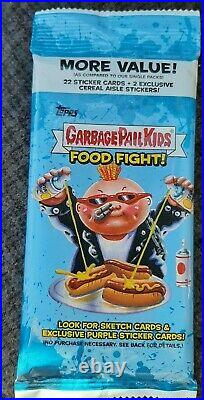 2021 Topps Garbage Pail Kids Food Fight! GUARANTEED ARTIST SKETCH CARD HOT PACK