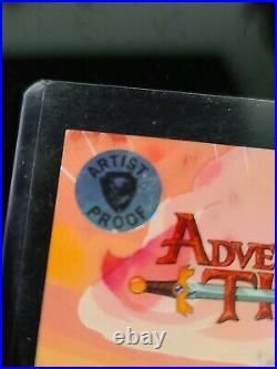 Adventure Time Marceline sketch card Artist Proof AP Matt Hebb