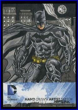 Cryptozic DC Comics The New 52 Artist's Sketch Card (BATMAN) JULIUS ABRERA