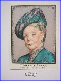 Cryptozioc Downton Abbey Season 1 & 2 Sketch Card By Artist Sam Hogg
