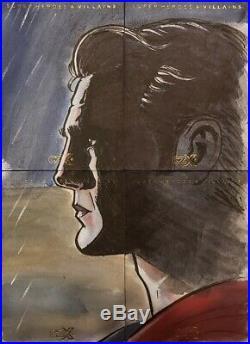 DC CZX Heroes Villains Artist Proof BVS Aquaman Batman Superman Sketch Card