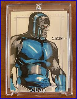 DC Universe Sketchafex Sketch Card Darkseid Artist Uko Smith