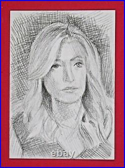 Decision 2020 Series 2 Kayleigh McEnany 1/1 2016 Sketch Card Artist Signed
