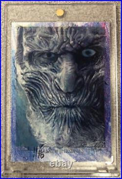 Game of Thrones Artist Return Charles Hall Sketch Card