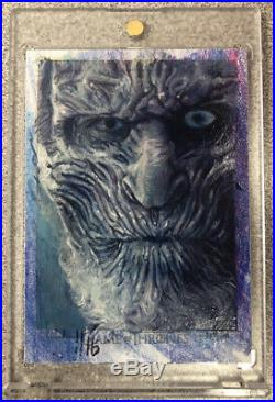 Game of Thrones Artist Return Charles Hall Sketch Card