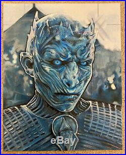 Game of Thrones Season 5 Rittenhouse SKETCH CARD Mike James Artist Return UNCUT