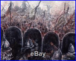 Game of Thrones Season 6 UNCUT ARTIST RETURN Sketch card Mick & Matt Glebe