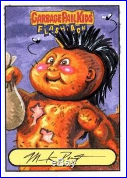 Garbage Pail Kids 2011 Flashback 2 Artist Mark Pingitore Return Sketch card