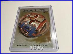 Halo Marvel Trading Card 2007 Topps Authentic Artist Sketch JKM RARE 1/1 Bomb