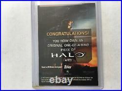 Halo XBOX Trading Card 2007 Topps John Watkins Chow artist Sketch 1/1 Elite