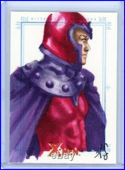 MAGNETO 2009 X-MEN ARCHIVES ARTIST COLOR SKETCH CARD by ALLISON SOHN 1/1