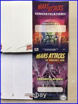 MARS ATTACKS Sketch Cards Job Lot 20 BLANK CARDS! Artist Cards