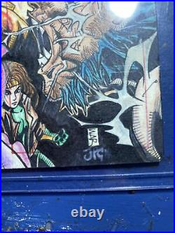 Marvel Masterpieces Sketch Cards 16- Piece Puzzle Wolverine X-Men Artist WAR JPC