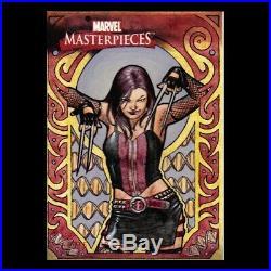 Marvel Masterpieces William Neff X-23 Artist Proof Sketch card