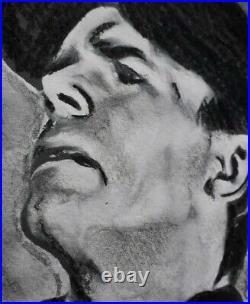 ORIGINAL ACEO sketch card STARGATE SG1 Richard Dean Anderson O'NEILL 100% draw