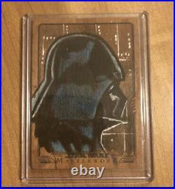 STARWARS Artist sketch card STARWARS Darth Vader