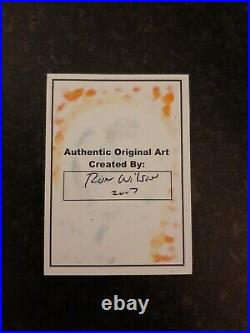 Silver Surfer Marvel Original Sketch Card By Comic Artist Ron Wilson 1 Of 1 Only