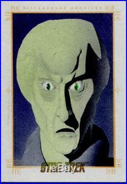 Star Trek 50th Anniversary Sketch Card By Unknown Artist