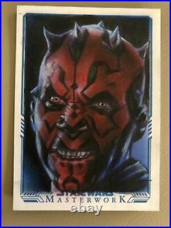 Star Wars Masterwork Artist Sketch Card Huy Truong AP