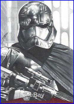 Star Wars The Force Awakens Artist Sketch Card Gabe Farber AP Artist Return