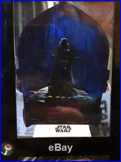 Star Wars Topps Artist Sketch Card 1/1 Darth Vader Ingrid Hardy