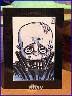 Star Wars Topps Artist Sketch Card 1/1 Darth Vader by Lord Mesa