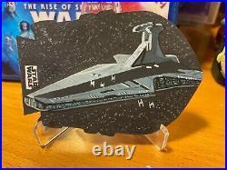 Star Wars Topps Artist Sketch Card 1/1 Destroyer Ship Jay Manchand