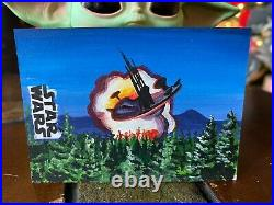 Star Wars Topps Artist Sketch Card 1/1 Endor Landscape Jay Manchand