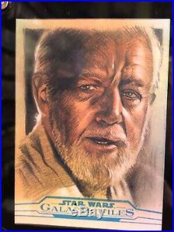 Star Wars Topps Artist Sketch Card 1/1 Huy Truong Obi-Wan Kenobi