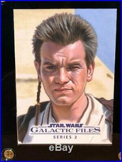 Star Wars Topps Artist Sketch Card 1/1 Kris Penix Obi-Wan Kenobi