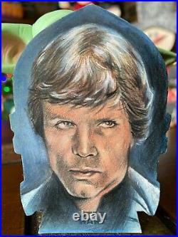 Star Wars Topps Artist Sketch Card 1/1 Luke Skywalker by Huy Truong