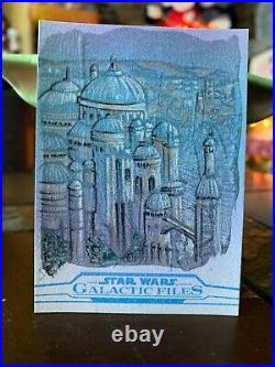Star Wars Topps Artist Sketch Card 1/1 Naboo by Matthew Hirons