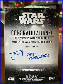 Star Wars Topps Artist Sketch Card 1/1 Padme Amidala Jay Manchand